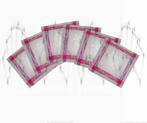 Набор салфеток на 6 персон Елизавета 50х50 см