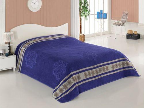 Простыня 200х220 см Yatak Ortusu Cotton Navy Blue