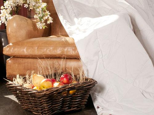 Легкое одеяло 200×220 см Merino Wool Grass