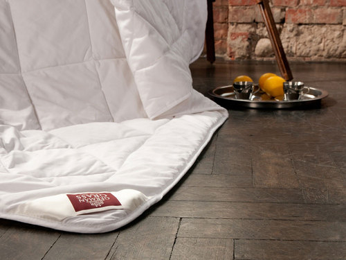 Всесезонное одеяло 200×220 см Merino Wool Grass