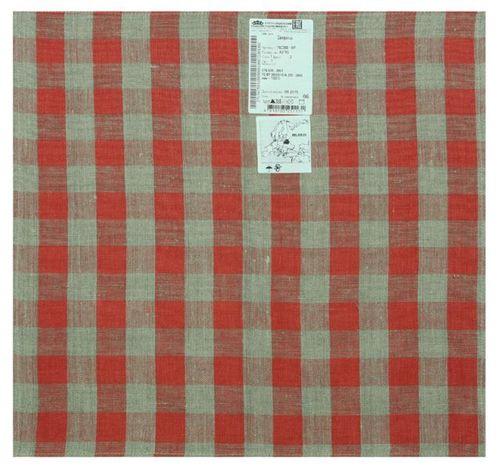 Столовая салфетка в красную клетку 45х45 см