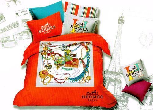 Постельное белье Tango Saten Brands 2.0 Hermes