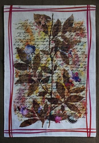 Кухонное полотенце Послание 50х70 см