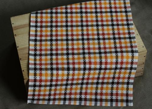 Льняное полотенце Squares 43х70 см