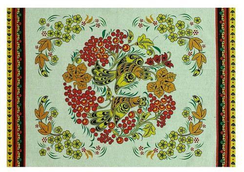 Кухонное полотенце Хохлома 50х70 см