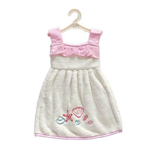 Кухонное полотенце-платье ADEO Ecru
