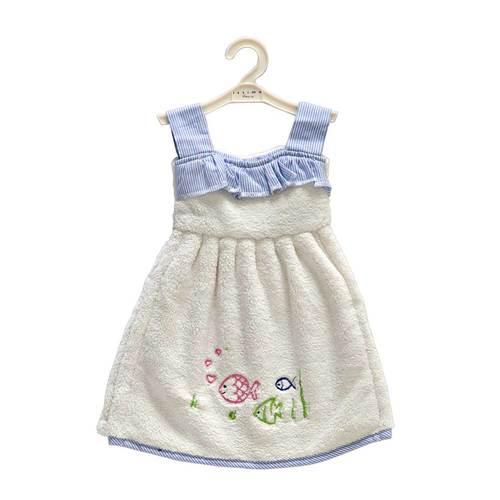 Кухонное полотенце-платье ALBUS Ecru