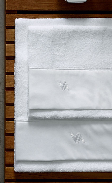 Комплект полотенец BE-LA-DA, белый
