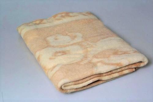 Детский плед-одеяло 100х140 Valtery бежевый