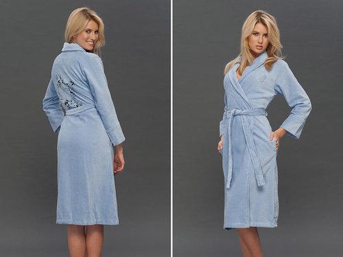 Женский халат VS Blue