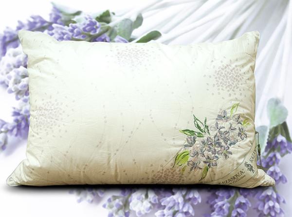 Подушка Kazanova 70x70 Organic Fibers Provence Lavender