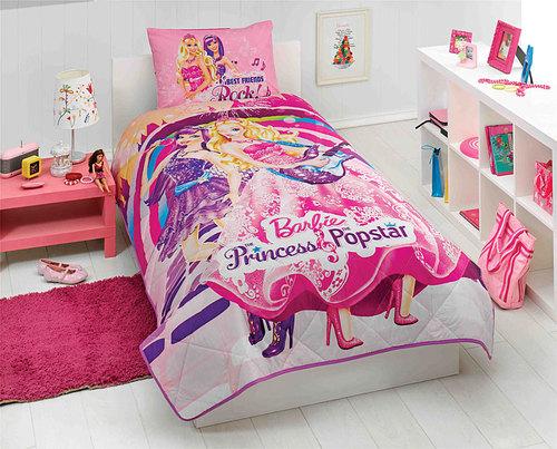 Детское постельное белье BARBIE PRINCESS POPSTAR