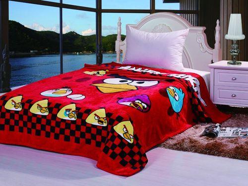 Детский плед Tango Angry Birds V3