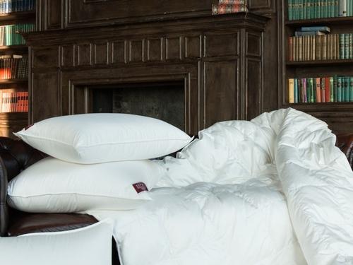 Теплое пуховое одеяло 220х240 см Luxe Down Grass