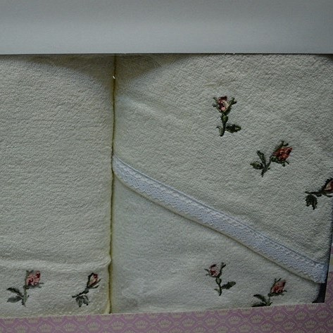 Набор полотенец Korona Style Сати кремовый
