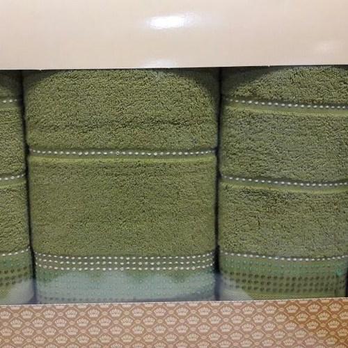 Набор полотенец Korona Style Спорт зеленый