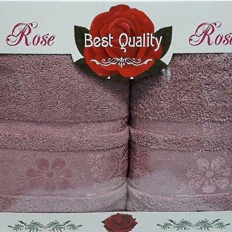 Набор полотенец Korona Style Эмма розовый