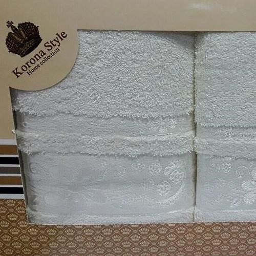 Набор полотенец Korona Style Эмма кремовый