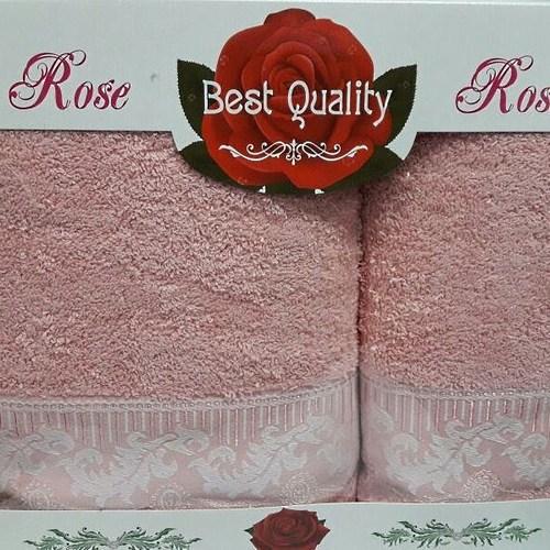 Набор полотенец Korona Style Линда розовый