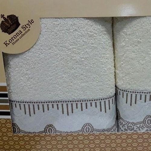 Набор полотенец Korona Style Линда кремовый
