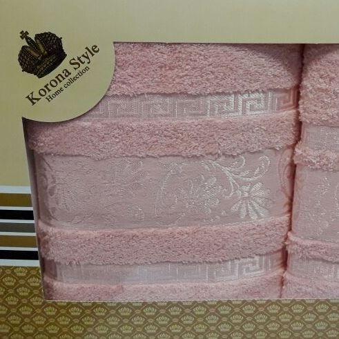 Набор полотенец Korona Style Зарина лососевый