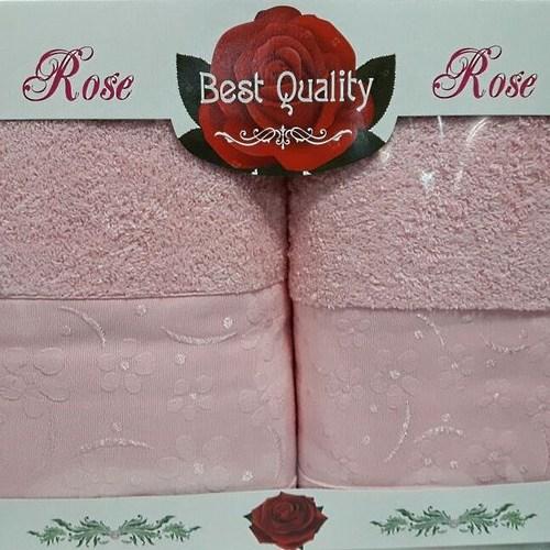 Набор полотенец Korona Style Диана розовый
