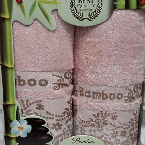 Набор полотенец Korona Style Рози розовый