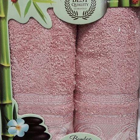 Набор полотенец Korona Style Адриана темно-розовый