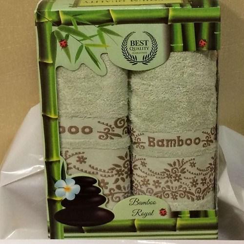 Набор полотенец Korona Style Рози светло-зеленый