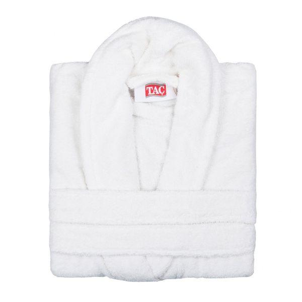 Махровый халат MAISON BAMBU кремовый
