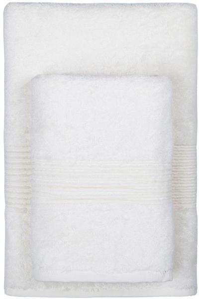 Махровое полотенце 70х140 MAISON BAMBU кремовый