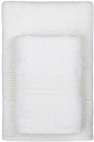 Махровое полотенце 50х90 MAISON BAMBU кремовый