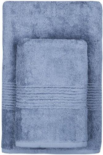 Махровое полотенце 50х90 MAISON BAMBU синий