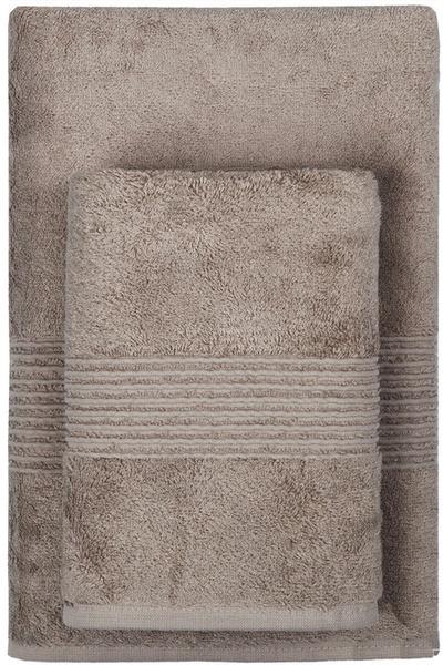 Махровое полотенце 50х90 MAISON BAMBU коричневый