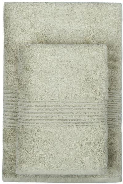 Махровое полотенце 50х90 MAISON BAMBU фисташковый