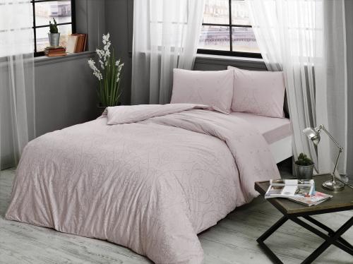 Постельное белье Valonia лиловый двуспальный