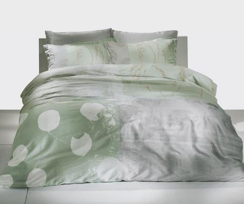 Постельное белье Grisel мятный двуспальный
