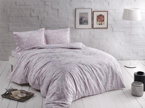 Постельное белье Castilo лиловый двуспальный