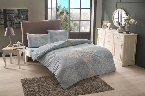 Постельное белье Janna голубой двуспальный