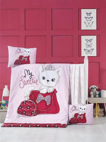 Детское постельное белье Victoria baby Tinny cat