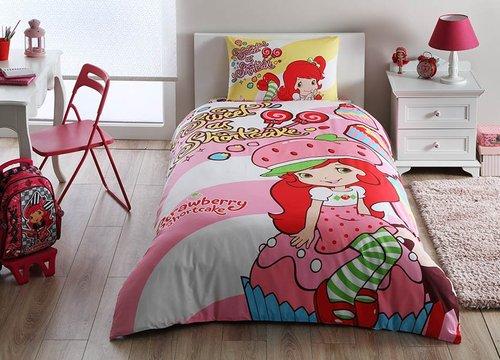 Детское постельное белье Strawberry Shortcake cute