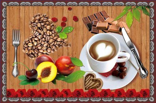 Набор салфеток с подстаканниками Tango Coffee V4
