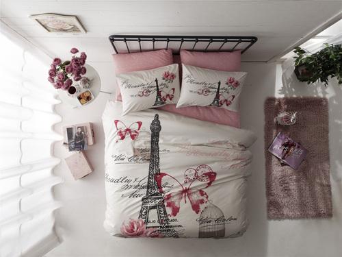 Постельное белье GISELLE розовый
