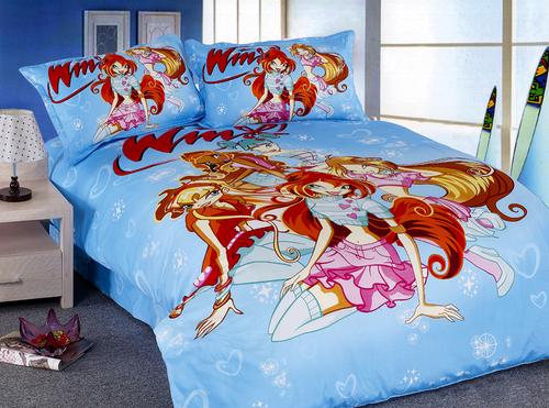 Детское постельное белье Winx СВ10-04