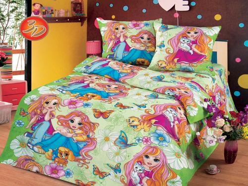 Подушка детская Cleo Экофайбер 50/023-PD