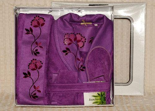 Банный набор женский Deco Bianco 12039-04