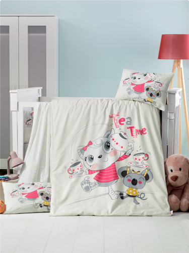 Детское постельное белье Victoria baby Tea Time