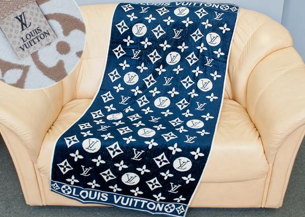 Пляжное полотенце Louis Vuitton Sapphire