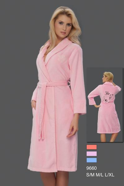 Женский халат VS Pink