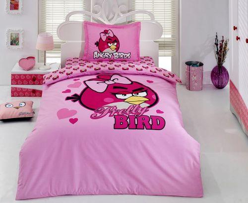 Детское постельное белье Angry birds 1010-02